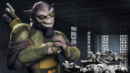 Here's the connection between Zeb and Chewbacca