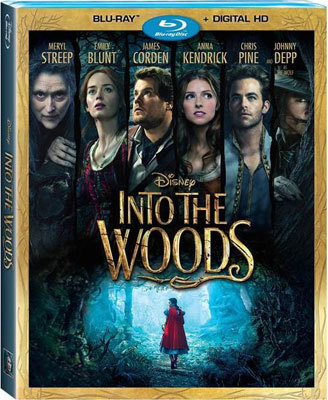 Into The Woods Blu-ray