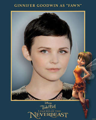 Ginnifer Goodwin voices Fawn