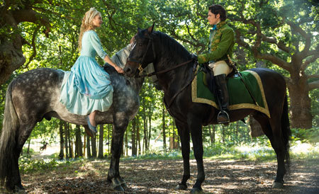 Cinderella meets Prince Kit (Richard Madden)
