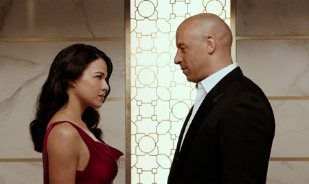 Dom and Letty dressed to kill