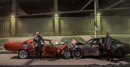 Dom and Baddie Shaw in head-on crash