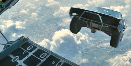 Cars skydive!