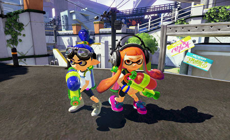 No trash talking in Nintendo's Splatoon!
