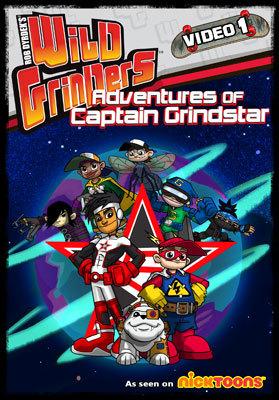Wild Grinders: Adventures of Captain Grindstar DVD