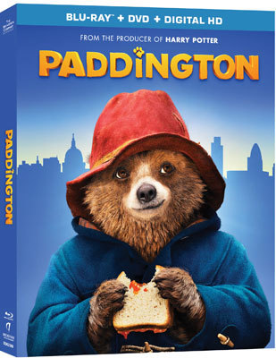 Paddington Blu-ray Cover