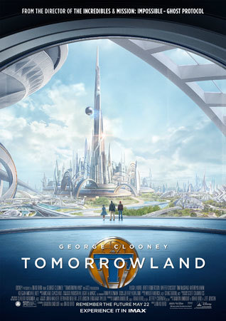 TOMORROWLAND IMAX Poster