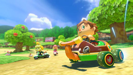 Crazy new DLC for Mario Kart 8!