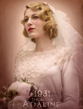 Adaline in her 1931 wedding dress