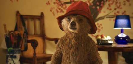 Paddington at the Brown home