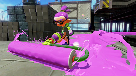 Splat Roller in action!