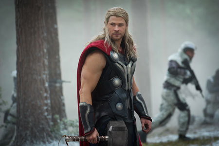 Is Thor ever not hunky?