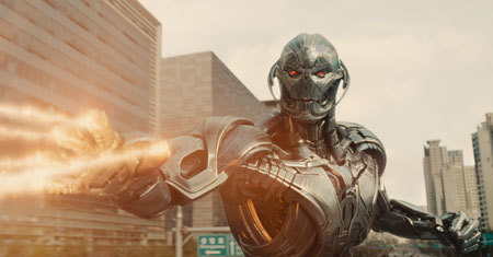 Ultron attacks!