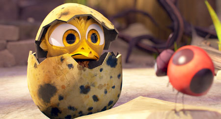 Seth Green as Yellowbird and Yvette Nicole Brown as Ladybug
