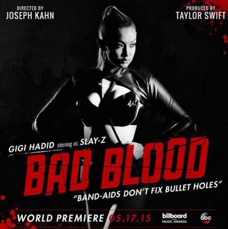 Gigi Hadid stars in the vid as Slay-Z