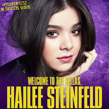 Hailee gets a warm welcome