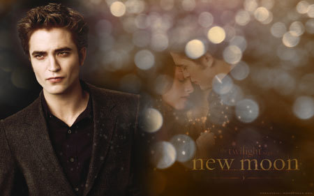 Robert as Edward Cullen in the Twilight Saga