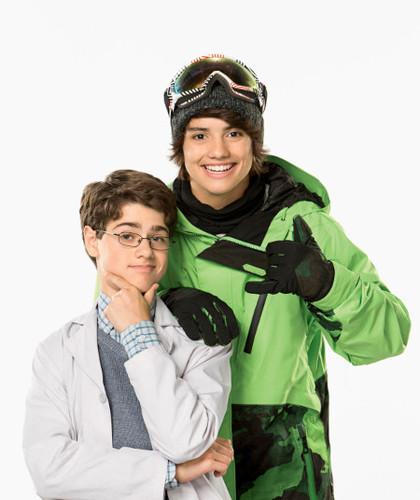 Jake Goodman and Jonny Gray as Max and Shred