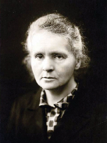 Marie Curie was one of the most famous scientists of all time.