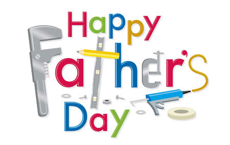 Celebrate your dad on Father's Day!