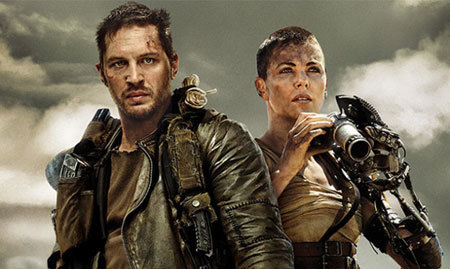 Max and Furiosa check for danger