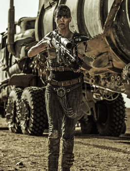 Charlize Theron as Furiosa