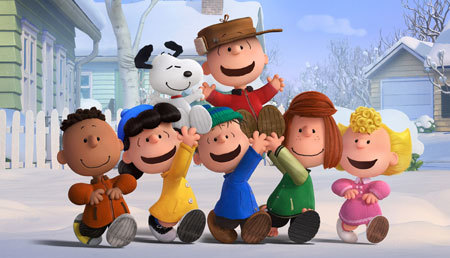 Charlie Brown, Snoopy and the Peanuts gang revel in a snow day