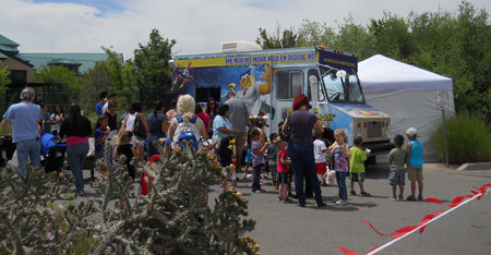 Albuquerque locals discover the Treat Truck
