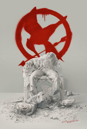 Mockingjay Part 2 Down with the Capitol Poster