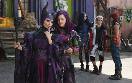 Dove as Mal with Kristin Chenoweth as Maleficent