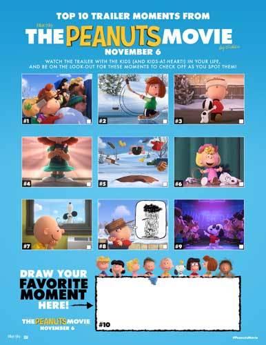 Top Trailer Moments Activity Sheet