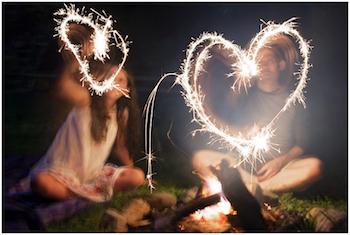 Honor the sun with a backyard bonfire!