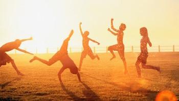 Raise energy in appreciation of the sun!