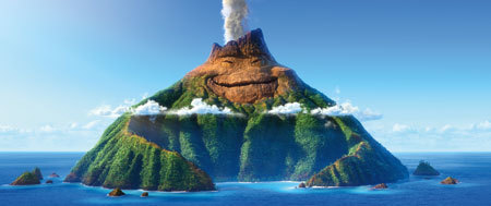 Lava's volcano