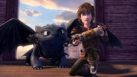 BFFs Hiccup and Toothless return for 13 episodes