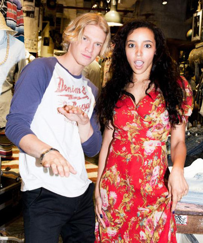 Cody Simpson and Tinashe for Ralph Lauren