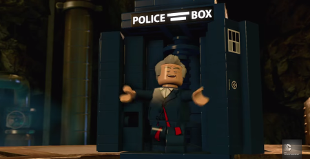Peter Capaldi did the voice of the Doctor for the game!