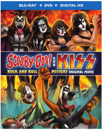 Scooby-Doo! and KISS: Rock and Roll Mystery Blu-ray