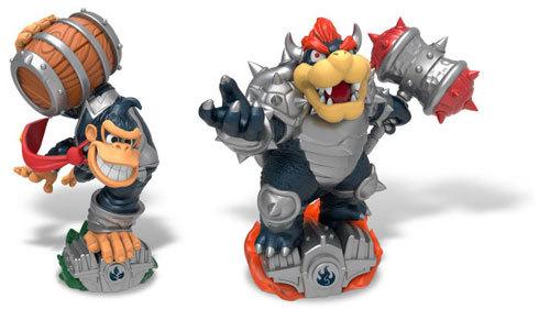 Donkey Kong and Bowser get Dark Editions