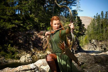 Evangeline as Tauriel in The Hobbit