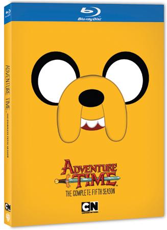 Adventure Time Season 5 Blu-ray Cover