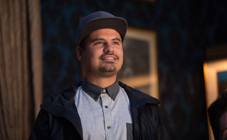 Scott's pal Luis (Michael Pena)