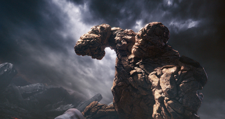The Thing's stone body gives him epic strength and makes him virtually indestructible.