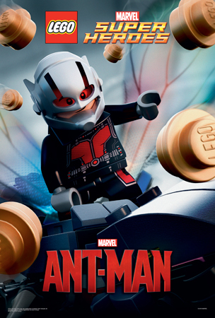 Marvel's Ant-Man…in LEGO bricks!