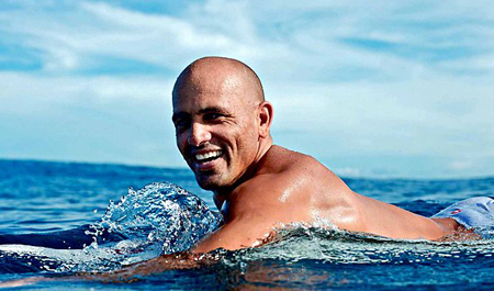 Kelly Slater is often called the world's greatest surfer