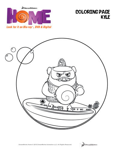 Coloring page Kyle