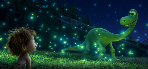 An Apatosaurus named Arlo makes an unlikely human friend
