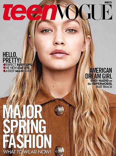 Gigi has been on several magazine covers