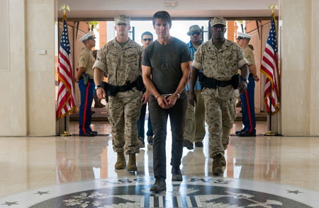 Ethan Hunt (Tom Cruise) is captured and brought in