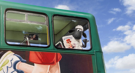 Shaun is on a bus to the big city